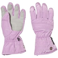 Poivre Blanc Purple Quilted Ski Gloves 0033