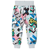 Koolabah Graffiti Pocket Pant Grey Multicolor Grey Multicolor