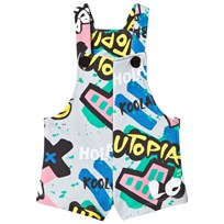 Koolabah Graffiti Dungaree Grey Multicolor Grey Multicolor