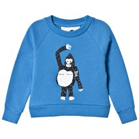 Koolabah Happy Gorilla Sweater  Blue Blue