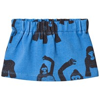 Koolabah Gorilla Mini Skirt Blue Blue