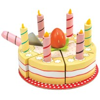 Le Toy Van Honeybake® Vanilla Birthday Cake Yellow