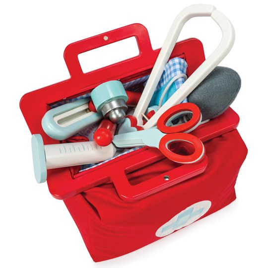 Le Toy Van Wooden Doctor's Set Red