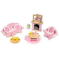 Le Toy Van Daisylane Sitting Room Dolls House Furniture Pink