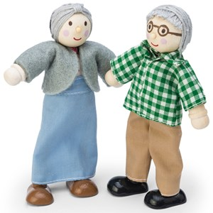 Image of Le Toy Van Daisylane Grandparent Dolls One Size (3+ years) (990848)