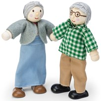 Le Toy Van Daisylane Grandparent Dolls Black