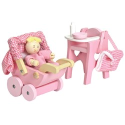 Le Toy Van Daisylane Nursery Set & Baby