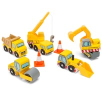 Le Toy Van Construction Set Yellow