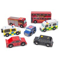 Le Toy Van London Car Set Red