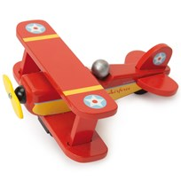 Le Toy Van Red Sky Flyer Plane Punainen