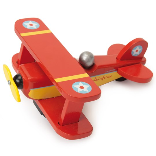 Le Toy Van Red Sky Flyer Plane Red