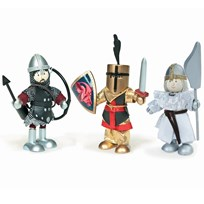 Le Toy Van Budkins® Knights Triple Pack Black