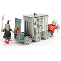 Le Toy Van Wooden Prisoner Cage Black