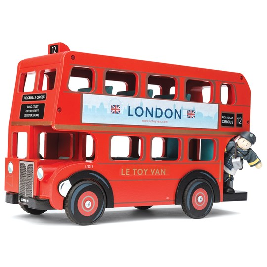 Le Toy Van London Sightseeing Tour Bus Red