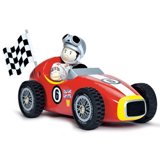 Le Toy Van Budkins® Retro Racer Red