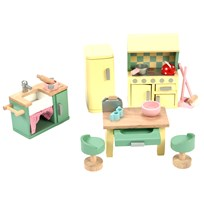 Le Toy Van Daisylane Kitchen Dolls House Furniture Yellow