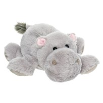 Teddykompaniet Dreamies Hippo Large серый