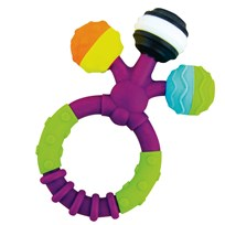 Sassy Sassy Prongy Ball Teether Unisex