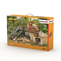 Schleich Croco Jungle Research Station Unisex