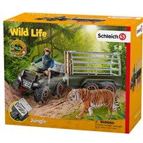 Schleich Quad bike with Trailer and Ranger Unisex