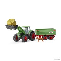 Schleich Tractor with Trailer Unisex