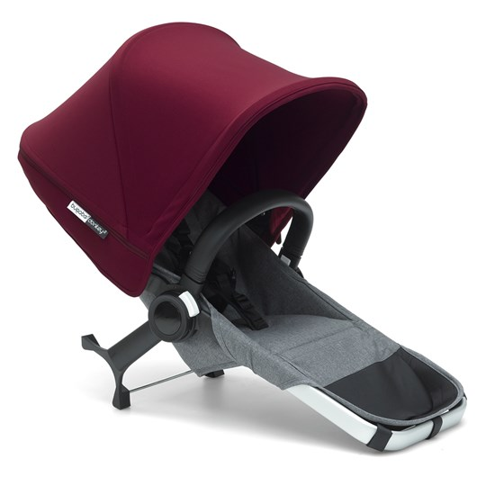 Bugaboo Bugaboo Donkey² Duo Extension Set Complete Grey/Red Grey/Red
