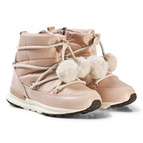 Mayoral Pink Snow Boots with Pom Pom 79