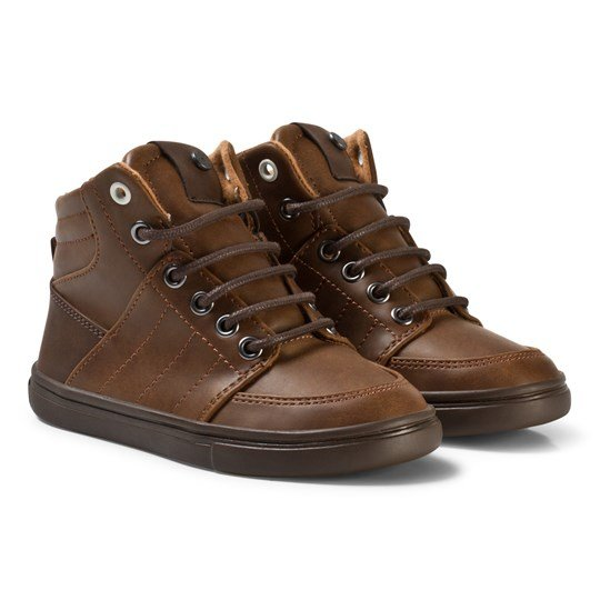 Mayoral Brown City Lace Up Boots 86