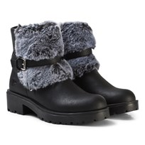 Lelli Kelly Sonya Faux Fur Ankle Boots Black Black