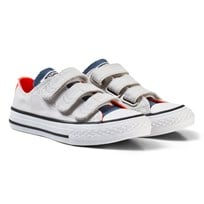 Converse Chuck Taylor All Star 3V Low Top Skor Mouse/Blå MOUSE/BLUE
