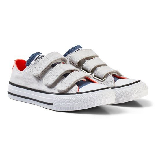 Converse Chuck Taylor All Star 3V Low Top in Mouse/Blue MOUSE/BLUE
