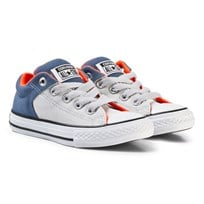 Converse Converse Chuck Taylor All Star Street Low Top Skor Mouse/Blå MOUSE/BLUE