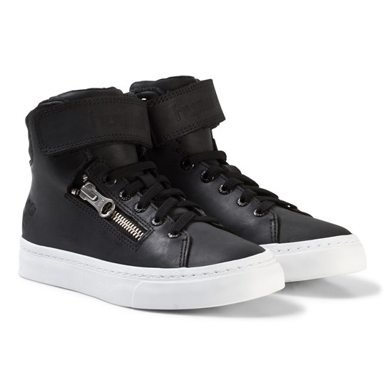 Hummel Stadil Zip Oiled Jr Black Black