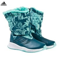 adidas Performance Disney Frozen Rapida Kids Snow Boots PETROL NIGHT F17/ENERGY AQUA F17/FTWR WHITE