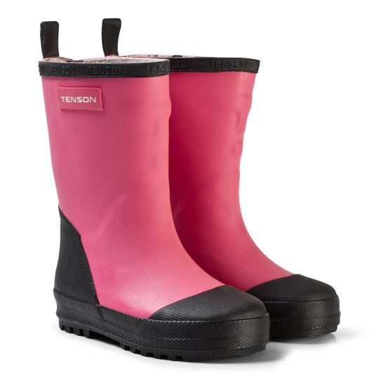 Tenson Rubber Wellies Sec Pink Pink