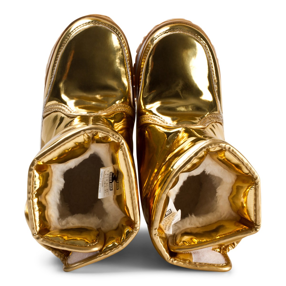 Rubber Duck - Snow Jogger Boots Metallic Gold - Babyshop.com