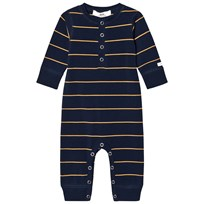 eBBe Kids Wave One-Piece Dark Navy/Gold Stripe Dark navy/gold stripe