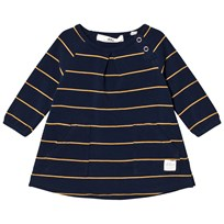 eBBe Kids Winner Dress Dark Navy/Gold Stripe Dark navy/gold stripe