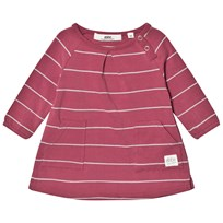 eBBe Kids Winner Dress Midnight Rose/Grey Stripe Midnight rose/grey stripe