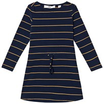 eBBe Kids Wallina Dress Dark Navy/Gold Stripe Dark navy/gold stripe