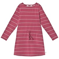 eBBe Kids Wallina Dress Midnight Rose/Grey Stripe Midnight rose/grey stripe