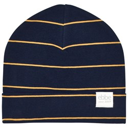 ebbe Kids West Beanie Dark Navy/Gold Stripe