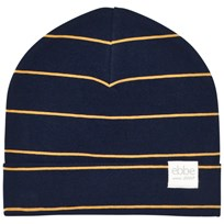 eBBe Kids West Beanie Dark Navy/Gold Stripe Dark navy/gold stripe