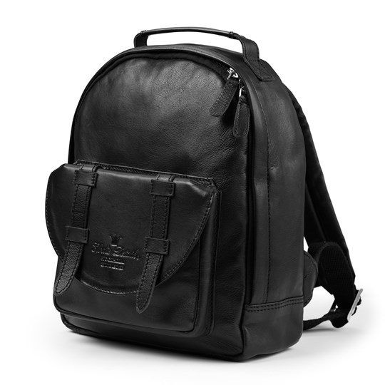 Elodie Back Pack MINI - Black Leather Black