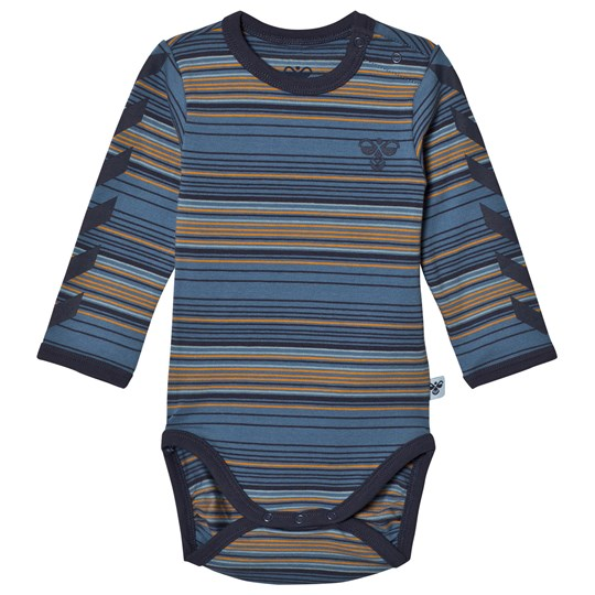 Hummel Stripe Baby Body Multi Color Multi Colour Boys