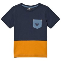 Hummel Balder T-shirt Blue Nights Blue Nights
