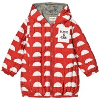 Bobo Choses Reversible Padded Anorak Crests Punainen