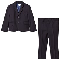 Paul Smith Junior Navy Travel Wool Suit (MINI ME) 492