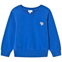 Paul Smith Junior Blue Sweater with Zebra Badge 450