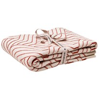 garbo&friends Strada Rust Cotton Blanket Multi